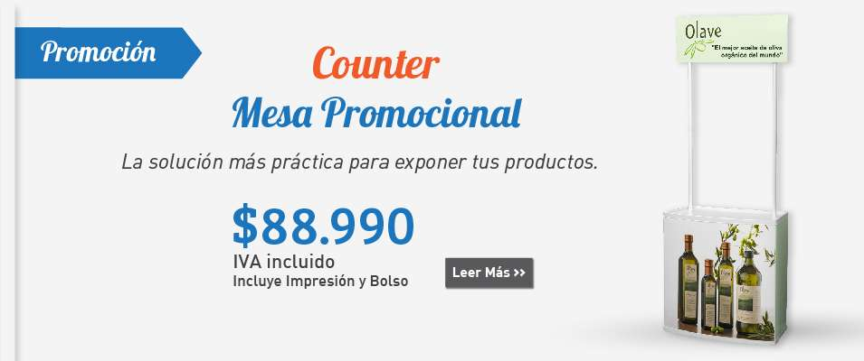 Counter Mesa Promocional