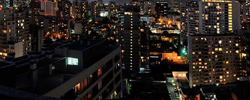 Mural Fotográfico.M.Paz Mellado-Nocturno