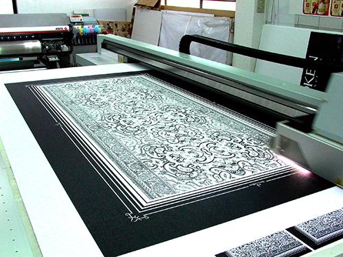 Impresión directa en cama plana