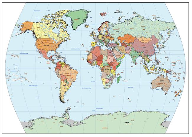 Mapa Mundi Times