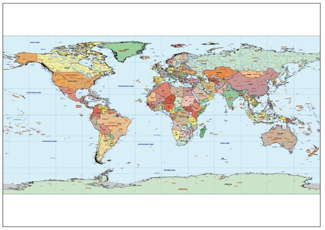 Mapa Mundi WG84