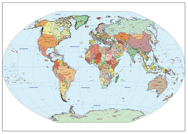 Mapa Mundi Winkel Tripel