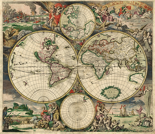 Mapa Mundi Terrarum Orbis