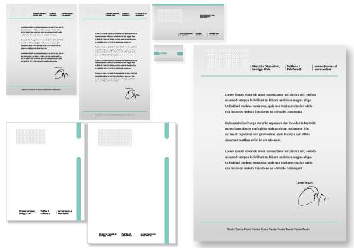 Papelería Corporativa estándar opción 2