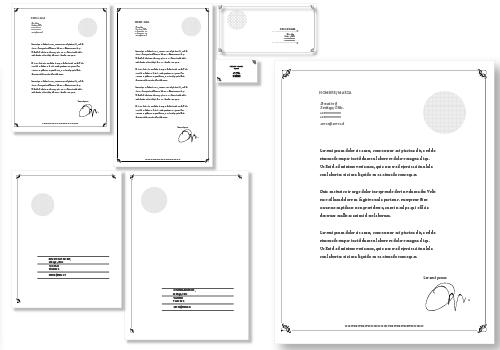 Papelería Corporativa estándar opción 5