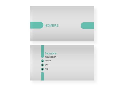 Diseño Tarjetas Presentación opción 2