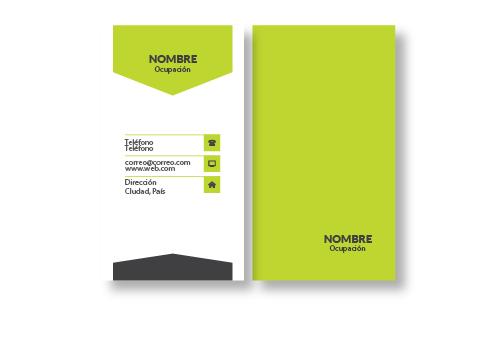 Diseño Tarjetas Presentación opción 10