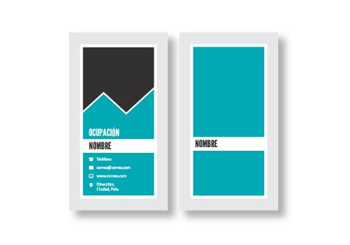 Diseño Tarjetas Presentación opción 11