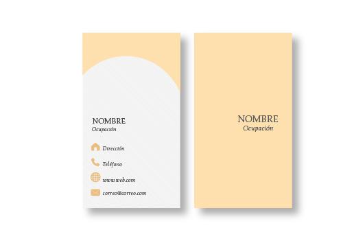 Diseño Tarjetas Presentación opción 13
